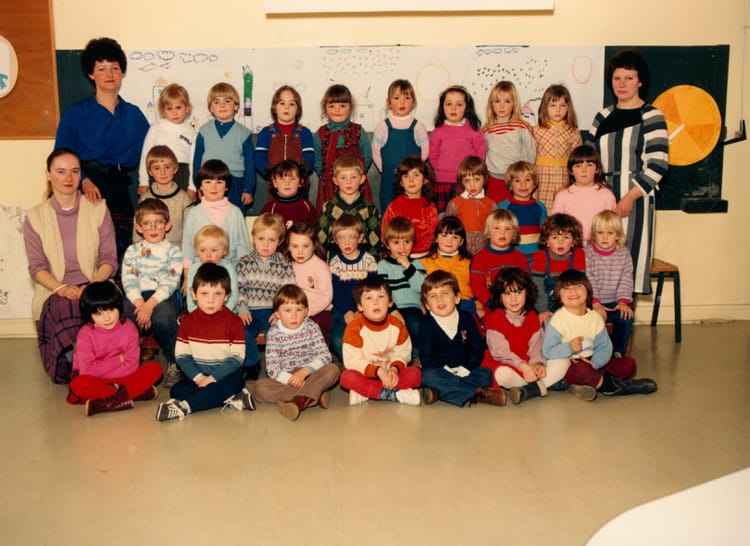 photo de classe classe de maternelle de 1983 ecole carnot gerbeviller copains d 39 avant. Black Bedroom Furniture Sets. Home Design Ideas