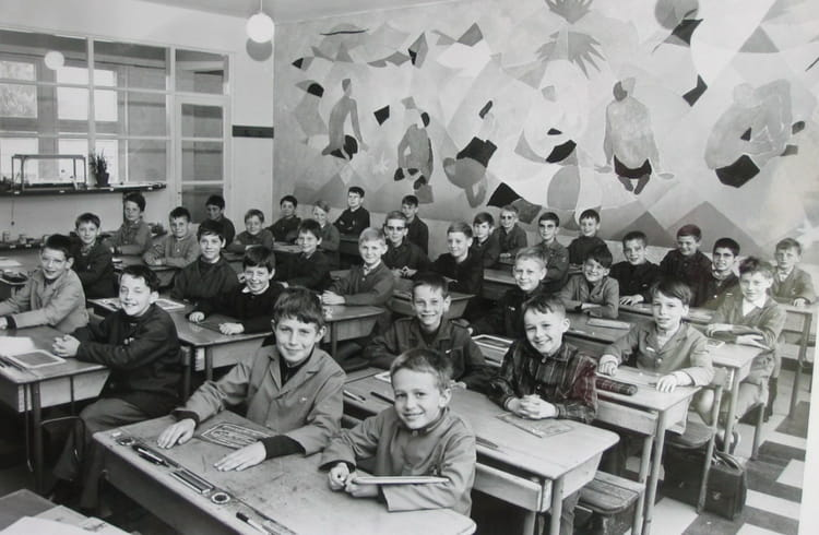 Photo de classe cm2 de 1967 ecole albert samain copains for Albert samain la cuisine