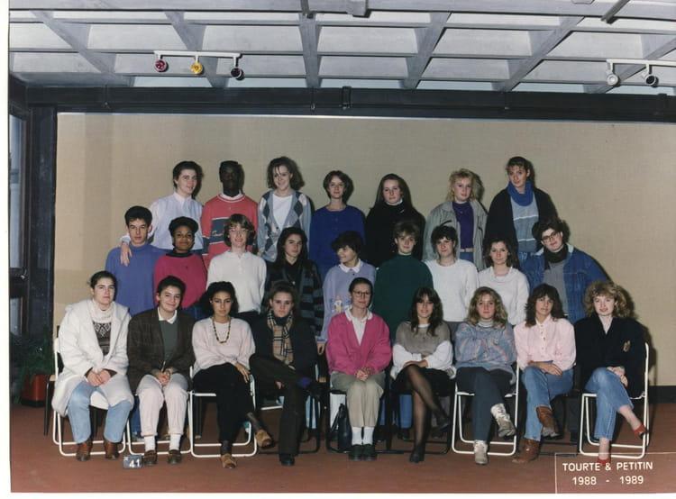 photo de classe terminale bt tourisme de 1988 lyc e albert einstein copains d 39 avant. Black Bedroom Furniture Sets. Home Design Ideas