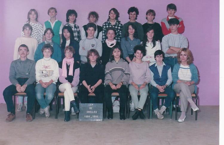 photo de classe bep 1asai2 de 1984 lyc 233 e professionnel louis lumi 232 re copains d avant