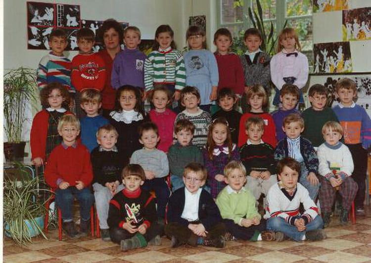 photo de classe ecole jules ferry b thune classe de maternelle 1989 1990 enseignante madame. Black Bedroom Furniture Sets. Home Design Ideas