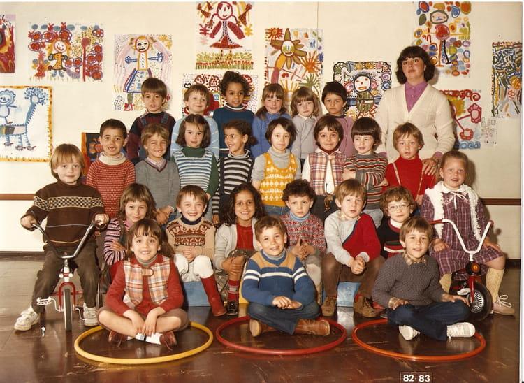 photo de classe moyenne section de 1982 ecole louis pasteur saint dizier copains d 39 avant. Black Bedroom Furniture Sets. Home Design Ideas