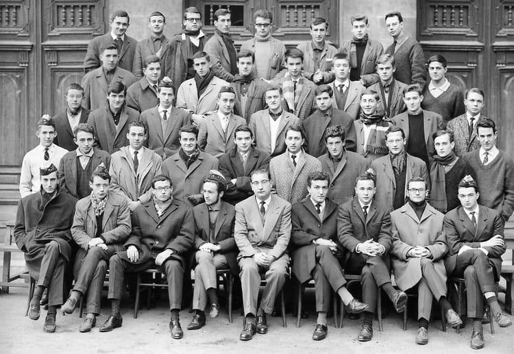 Photo de classe prepa hec de 1962 lyc e michel montaigne for Dujardin hec