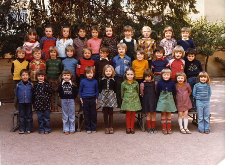 photo de classe maternelle cours perrier de 1976 ecole cours perrier villefranche sur saone. Black Bedroom Furniture Sets. Home Design Ideas