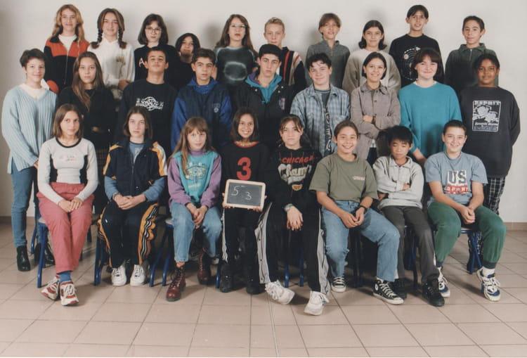 photo de classe 5 eme 3 de 1996 coll 232 ge mont duplan