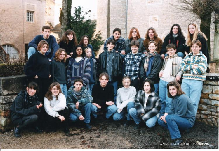 photo de classe photo de classe lugny 1995 1996 de 1995 coll ge priv la source copains d 39 avant. Black Bedroom Furniture Sets. Home Design Ideas