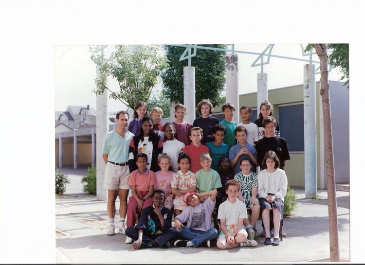 photo de classe cm2 primaire racine de 1989 ecole jean racine le mee sur seine copains d 39 avant. Black Bedroom Furniture Sets. Home Design Ideas