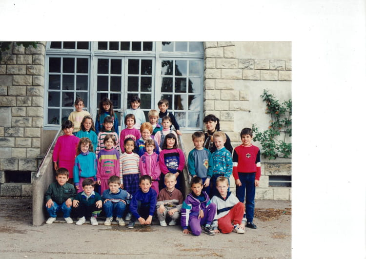 photo de classe ce1 de 1990 ecole calude debussy jean rostand venarey les laumes copains. Black Bedroom Furniture Sets. Home Design Ideas