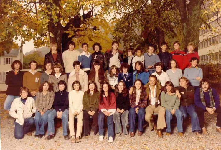 Photo de classe 1erG2 de 1979, Itecboisfleury  Copains d  ~ Itec Bois Fleury
