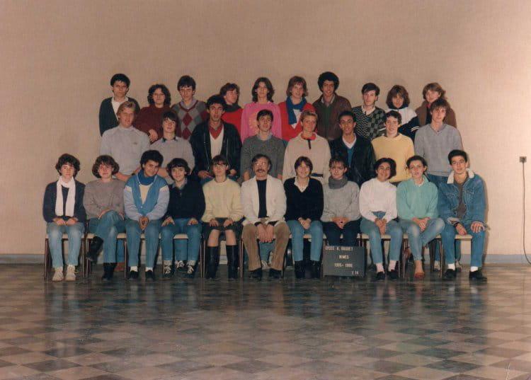 Photo de classe terminale d 14 de 1985 lyc e alphonse for Lycee alphonse daudet