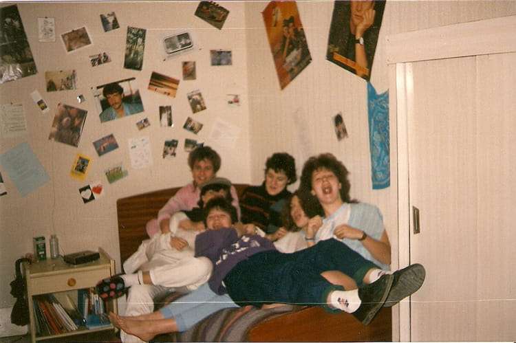 Photo de classe mes amies d 39 internat de 1988 lyc e les - Programme cinema les arcades salon de provence ...
