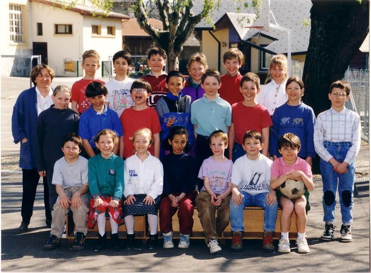 photo de classe ce2 de 1994 ecole chambery le vieux