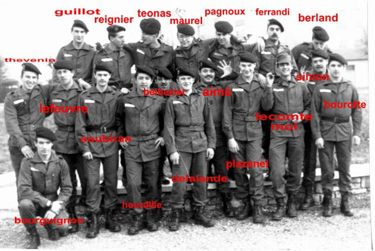 Photo de classe 6 me regiment d 39 artillerie de 1984 6 eme for Christophe chaumont