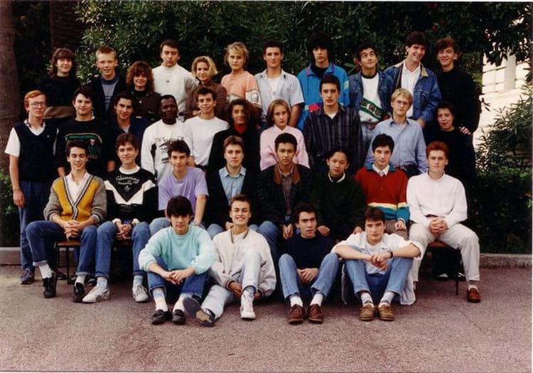 Photo de classe TC17 de 1990, Lycée Du Parc Impérial
