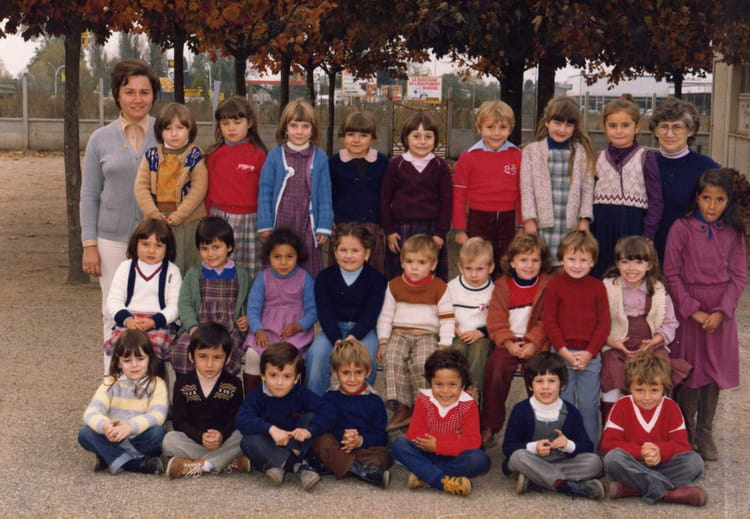 photo de classe maternelle de 1979 ecole carre libourne copains d 39 avant. Black Bedroom Furniture Sets. Home Design Ideas