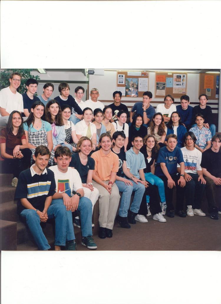 photo de classe 2de c de 1998 lyc 233 e fran 231 ois d assise copains d avant
