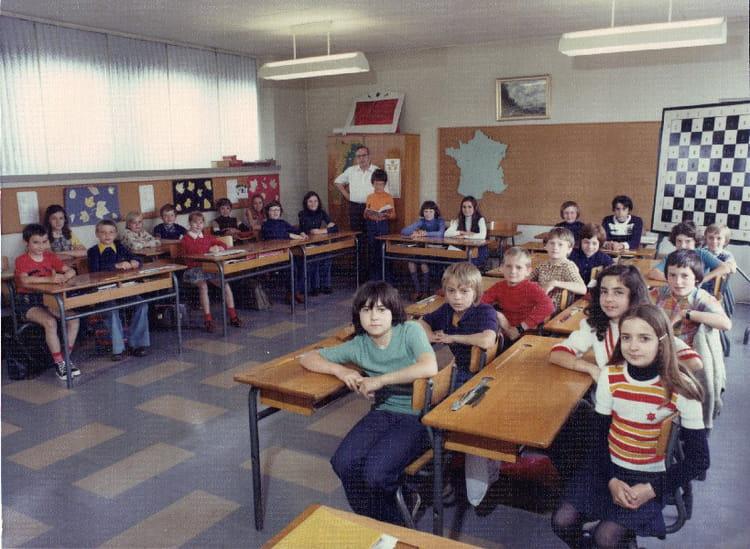 photo de classe cm2 m bachschmidt de 1970 ecole maurice barres copains d 39 avant. Black Bedroom Furniture Sets. Home Design Ideas