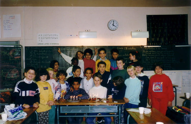 photo de classe cm1 de 1995 ecole jean bonis melun copains d 39 avant. Black Bedroom Furniture Sets. Home Design Ideas