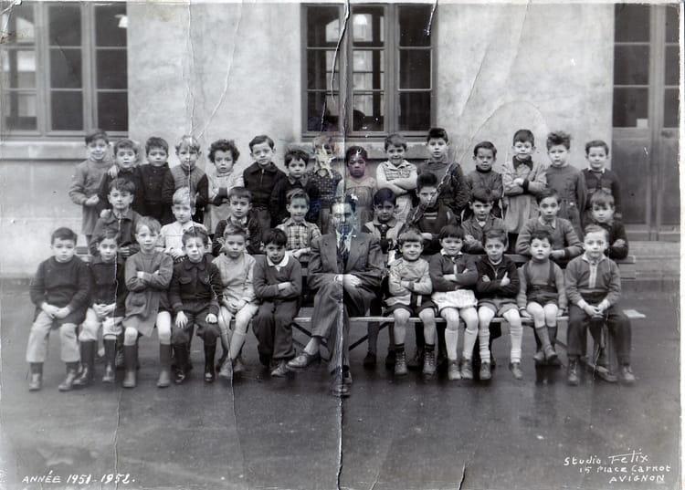 Photo de classe cp rue thiers avignon de 1951 ecole elem - Ecole de decoration avignon ...