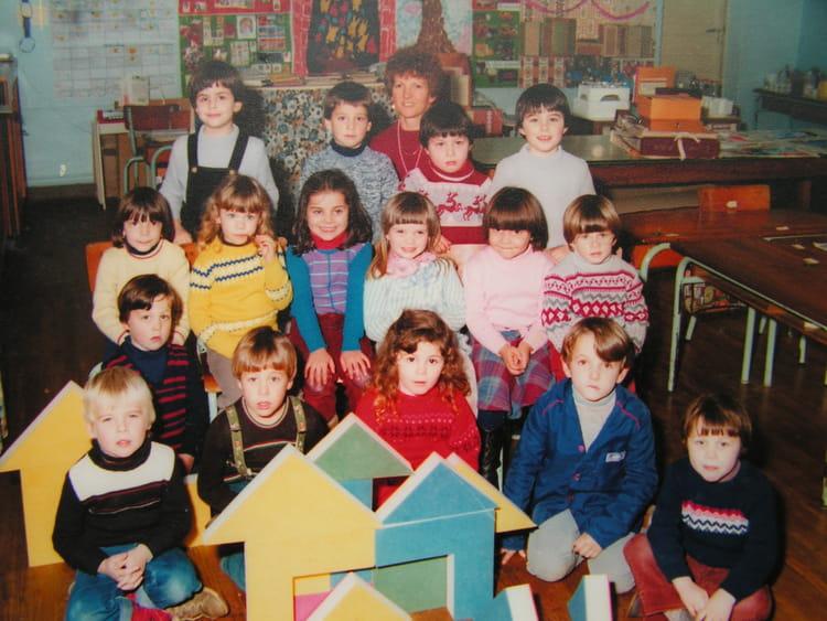 photo de classe maternelle grande section de 1982 ecole primaire azay le brule copains d 39 avant. Black Bedroom Furniture Sets. Home Design Ideas