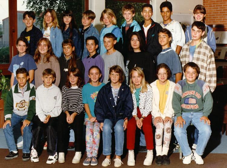 Photo de classe 5èmeA 19941995 de 1994, Collège Albert
