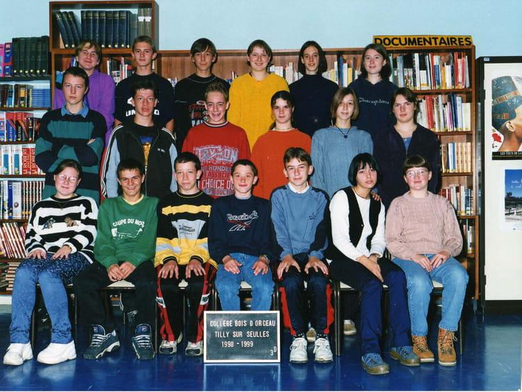 classe 3 ème D de 1998, Collège Du Bois Dorceau  Copains davant ~ College Bois D Orceau