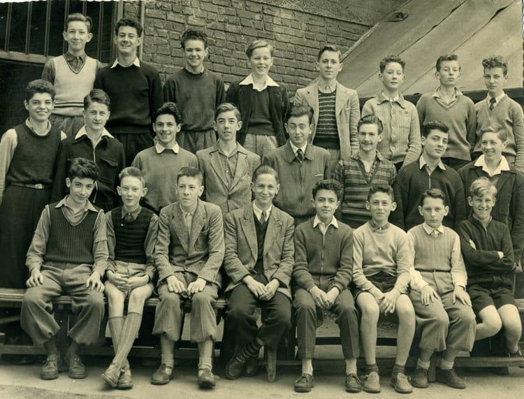 photo de classe 3 232 me de 1955 coll 232 ge jean baptiste de la salle copains d avant