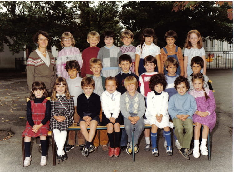 photo de classe cp de 1984 ecole le chene brunoy copains d 39 avant. Black Bedroom Furniture Sets. Home Design Ideas
