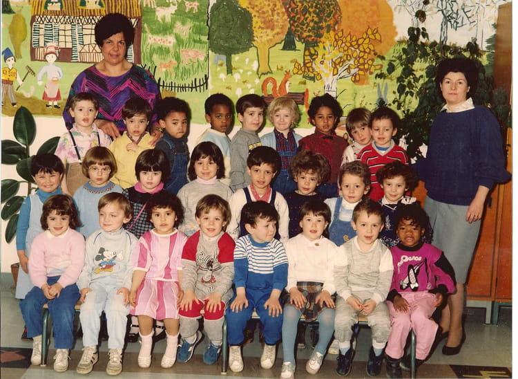 photo de classe mermoz 1985 de 1985 ecole maternelle jean On ecole artisanat mermoz