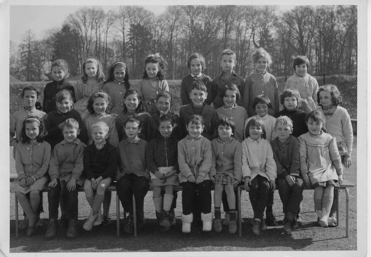photo de classe ce1 de 1962 ecole fort du bois lagny sur