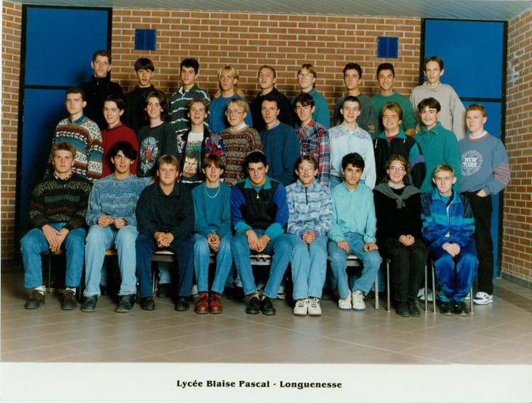 Photo de classe tf3b de 1993 lyc e blaise pascal cit - Art cuisine longuenesse ...