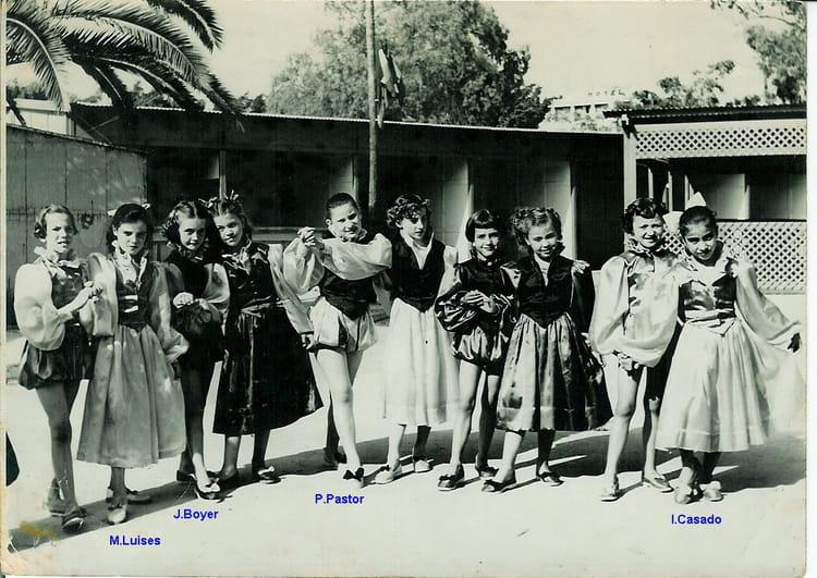 Photo de classe classe danse mme julien de 1956 ecole de la r sistance rue de poitiers avenue - Chambre de commerce de poitiers ...