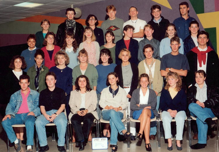 photo de classe bts action commerciale 2 me ann e de 1993 lyc e r mi belleau copains d 39 avant. Black Bedroom Furniture Sets. Home Design Ideas