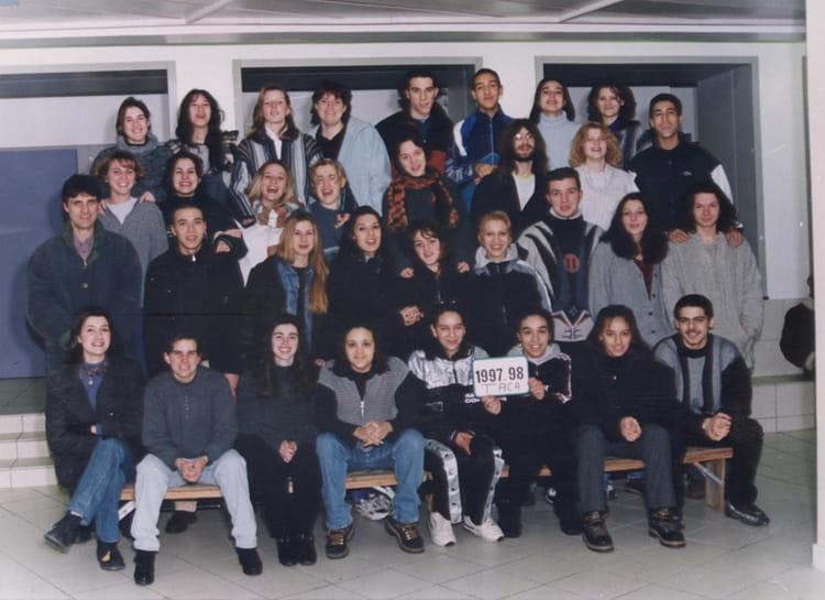 photo de classe term stt aca de 1998 lyc 233 e portes de l oisans copains d avant