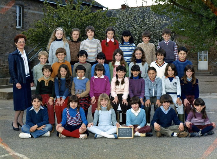 photo de classe cm1 de 1982 ecole saint etienne montoir. Black Bedroom Furniture Sets. Home Design Ideas