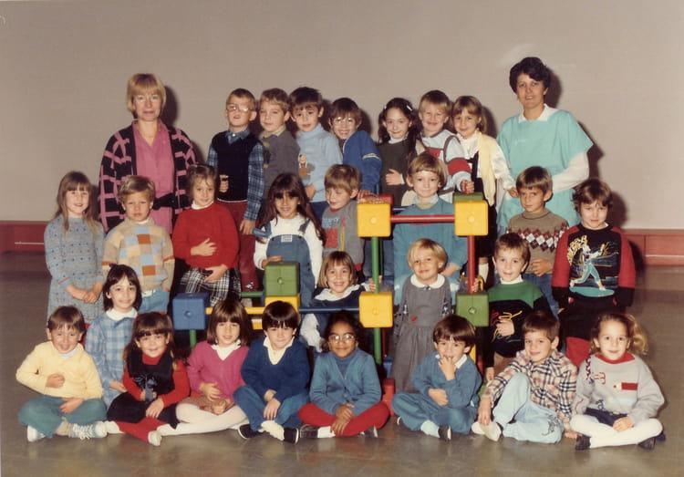 photo de classe grande section de 1985 ecole le chat perche saint bonnet de mure copains d. Black Bedroom Furniture Sets. Home Design Ideas