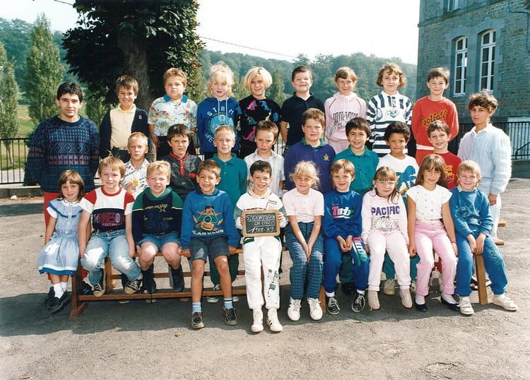 photo de classe 1988 1989 de 1988 ecole de villeneuve saint germain en cogles copains d 39 avant. Black Bedroom Furniture Sets. Home Design Ideas