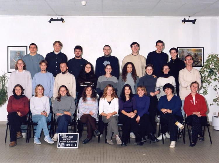 photo de classe bts ii chimie de 2000 lyc e nicephore niepce copains d 39 avant. Black Bedroom Furniture Sets. Home Design Ideas