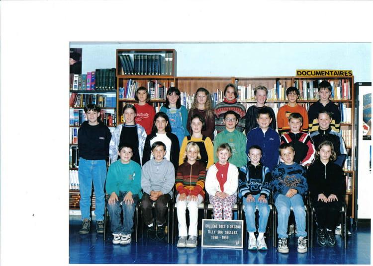 de classe 6éme b de 1998, Collège Du Bois Dorceau  Copains davant ~ College Bois D Orceau