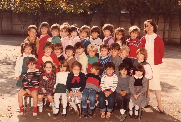 photo de classe maternelle moyenne section de 1984 ecole sud libourne copains d 39 avant. Black Bedroom Furniture Sets. Home Design Ideas