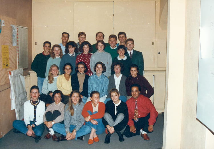photo de classe 1tsaca de 1992 bts action commerciale flaubert copains d 39 avant. Black Bedroom Furniture Sets. Home Design Ideas