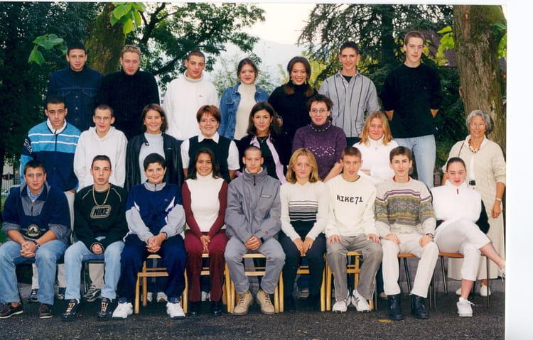 Photo de classe Classe 1° STT 3 de 2001, Itecboisfleur ~ Itec Bois Fleury