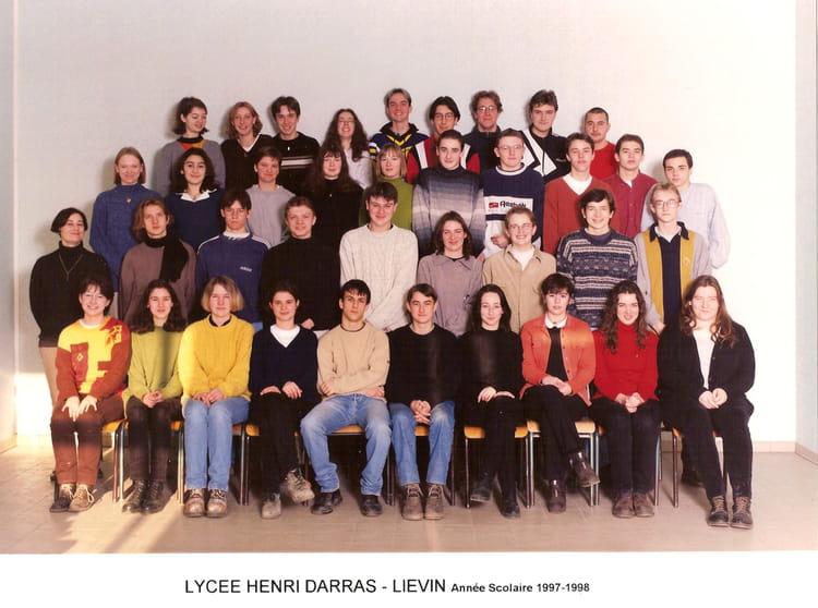 Photo de classe 1s de 1997 lyc e henri darras copains d for Dujardin arras