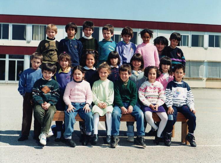 photo de classe cp de 1990 ecole primaire labarthe sur leze copains d 39 avant. Black Bedroom Furniture Sets. Home Design Ideas