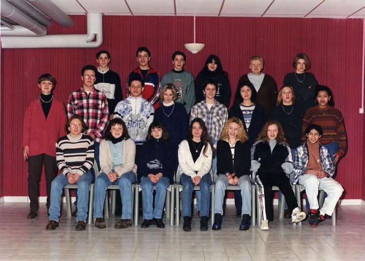 Photo de classe 3eme2 de 1996, Coll u00e8ge Alfred Kastler   Copains d u0026#39;avant
