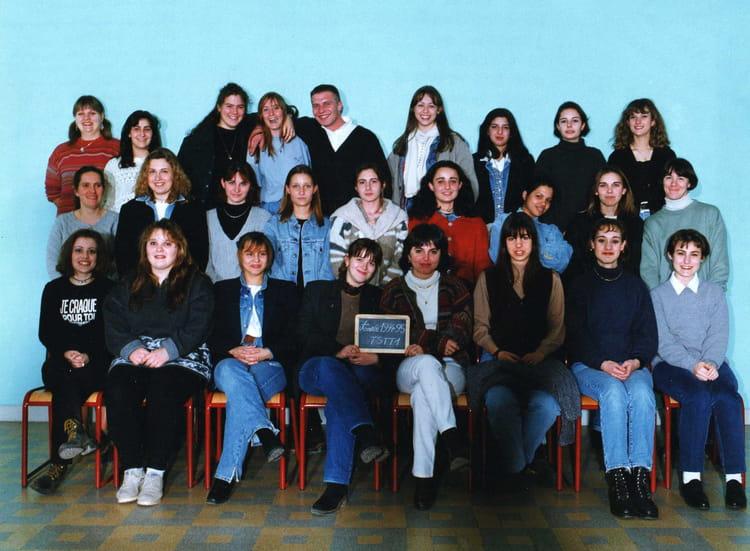Photo de classe terminale stt 1 1994 1995 de 1994 lyc e - Lycee craponne salon ...