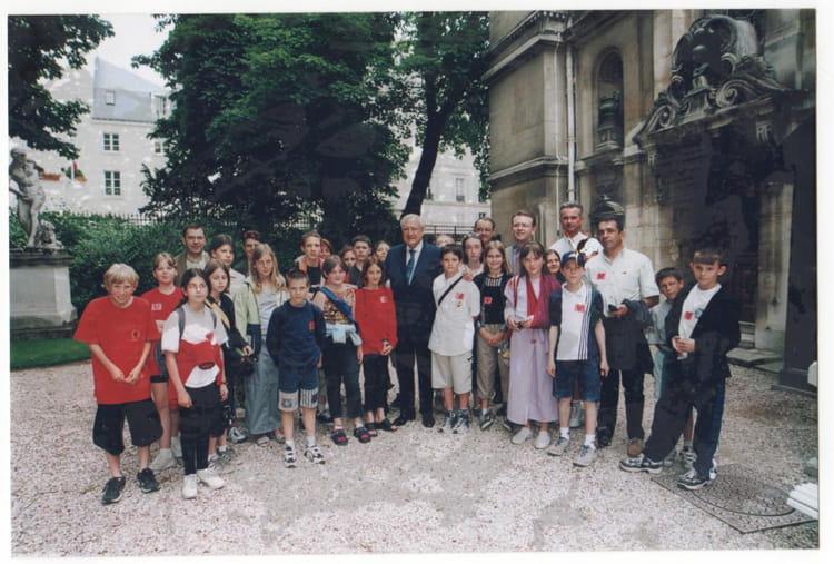 Photo de classe conseille municipal d 39 enfants de 2000 mairie de saint nicolas de port - Mairie saint nicolas de port ...