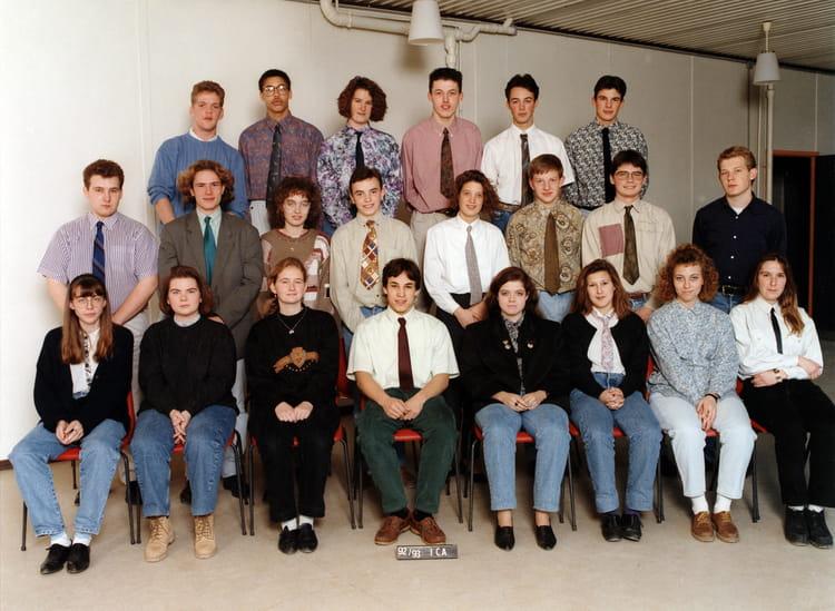 Photo de classe 1 re collaborateur d 39 architecte de 1992 for Collaborateur d architecte onisep
