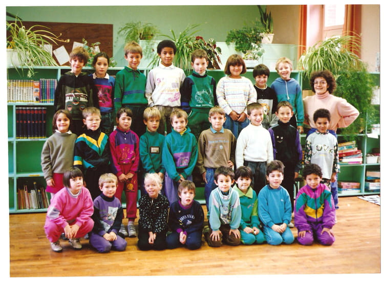 photo de classe cp de 1991 ecole du general de gaulle. Black Bedroom Furniture Sets. Home Design Ideas