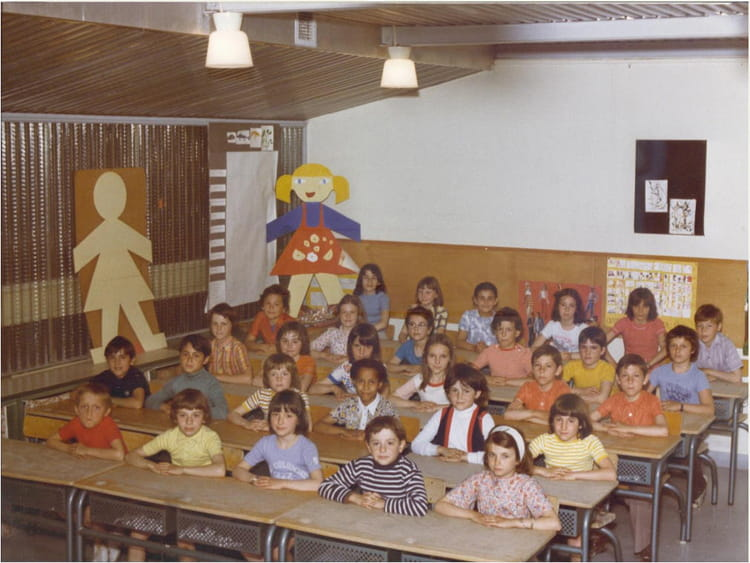 photo de classe cm1 1975 1976 de 1976 ecole jean mace sainte genevieve des bois copains d 39 avant. Black Bedroom Furniture Sets. Home Design Ideas
